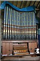 TF0043 : Organ in St Mary's church, Wilsford by J.Hannan-Briggs