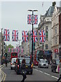 TQ2981 : Patriotic Oxford Street SW1 by R Sones