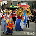 SJ8397 : Manchester Day Parade, 2012 by David Dixon