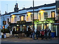 TQ3004 : The Railway Bell, Surrey Street, BN1 - evening by Mike Quinn