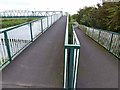 TF0571 : Footbridge over the River Witham by Oliver Dixon