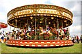 SJ7077 : Carousel at the Cheshire Show by Jeff Buck