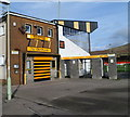SS8491 : Entrance to Maesteg RFC ground by John Grayson