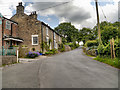 SJ9481 : Cottages on Shrigley road by David Dixon