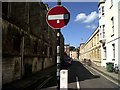 SP5106 : No entry into Pusey Street, Oxford by nick macneill