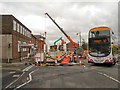 SD9204 : Metrolink Extension, Oldham Town Centre by David Dixon