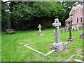 SZ2195 : St Michael & All Angels, Hinton Admiral: churchyard (2) by Basher Eyre
