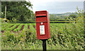 J1960 : Letter box, Flatfield near Hillsborough by Albert Bridge