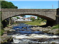 SS7249 : The A39 crosses the East Lyn at Lynmouth : Week 25