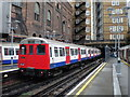 TQ2782 : Uxbridge train leaving Baker Street by Richard Vince