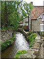 SE8382 : Cottages beside the beck by Pauline Eccles