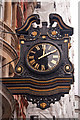 TQ3080 : Clock - No. 3,  Southampton Street, London by Mick Lobb