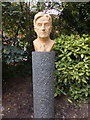 TQ2777 : Bust of Ralph Vaughan Williams in Chelsea Embankment Gardens by PAUL FARMER