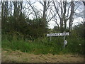 TM0001 : Sign for Bridgewick Road, Dengie by David Howard