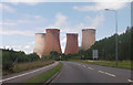 SK0517 : Rugeley Power station from by pass by John Firth