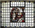 TQ3177 : St Mark, Kennington Park Road - Stained glass window by John Salmon