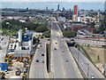 TQ3980 : Silvertown Way by Stephen Craven