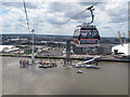 TQ3980 : Emirates Airline in mid-river by Stephen Craven