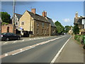 SK8900 : Main Road (A47), Glaston by JThomas