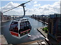 TQ4080 : Emirates Air Line cable car in flight by PAUL FARMER