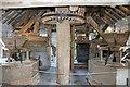 SJ4553 : Stretton Mill - millstones by Chris Allen