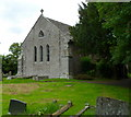 SO2341 :  Grade II* listed Church of St Mary, Cusop - a view from the west by John Grayson