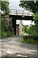 SX0060 : Newquay Branch rail overbridge by roger geach