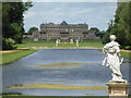 TL0935 : Looking past William III to Wrest House by M J Richardson