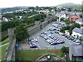 SH7877 : Conwy town walls in 2005 by Ruth Riddle