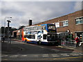 SK5879 : Bus on Hardy Street, Worksop by Richard Vince