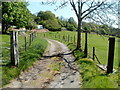 SO2706 : Access lane to Beili-glas Farm, Cwmavon by Jaggery