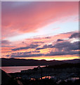 NS2072 : Inverkip sunset : Week 27