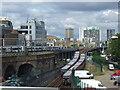 TQ3380 : DLR at Royal Mint Street : Week 27