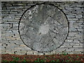 SP1521 : Millstone at Slaughter farm (4) by Nigel Mykura