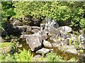 SX6473 : Boulders in the Swincombe by Derek Harper