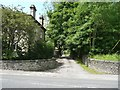 SE0226 : Driveway to Ewood Hall off Burnley Road by Humphrey Bolton