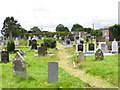 W7075 : Rathcooney cemetery, Glanmire, Cork by David Hawgood