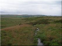 SE0844 : Soggy path over Rivock by John Slater