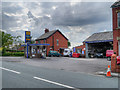 SD6122 : Stocks Garage, Higher Wheelton by David Dixon