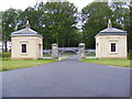 TM3671 : Heveningham Hall Gatehouses by Adrian Cable