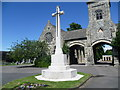 TQ3267 : War memorial and chapel in Queen's Road Cemetery by Ian Yarham