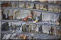 SX0784 : Delabole Slate Quarry : Week 28