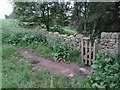 SK2368 : Gateway to Manners Wood by Ian Paterson