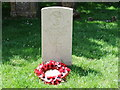 TQ8611 : War Grave in St Andrews Churchyard Fairlight by PAUL FARMER