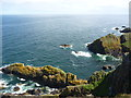 NT9168 : Coastal Berwickshire : Waimie Carr, near St Abb's Head by Richard West