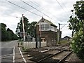 TL4048 : Foxton Crossing and signal box by John Sutton