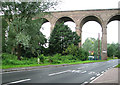 TL8928 : Chappel viaduct, Wakes Colne by Evelyn Simak
