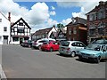 SO4593 : The Square, Church Stretton by Christine Johnstone