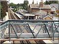 TQ2162 : Footbridge, Ewell West by Colin Smith