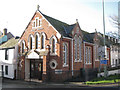 SX9472 : Teignmouth Baptist Church, Fore Street by Robin Stott